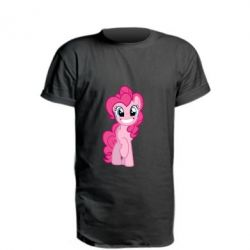 Подовжена футболка Pinkie Pie smile - FatLine