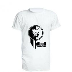 Купить Удлиненная футболка Pitbull loco, FatLine