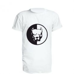 Подовжена футболка Pitbull