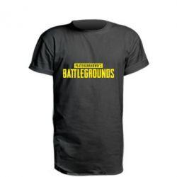 Купить Удлиненная футболка Players unknown battle grand, FatLine