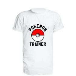 Удлиненная футболка Pokemon Trainer - FatLine