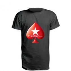 Подовжена футболка Poker Stars Game
