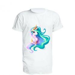 Подовжена футболка Принцеса Селеста - FatLine