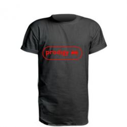 Подовжена футболка Prodigy Логотип