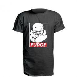 Удлиненная футболка Pudge Obey