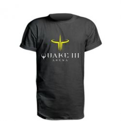 Удлиненная футболка Quake 3 Arena