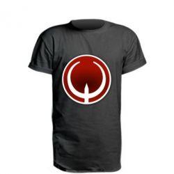 Подовжена футболка Quake Logo