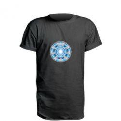 Подовжена футболка Реактор Тоні Старка