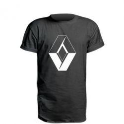 Удлиненная футболка Renault