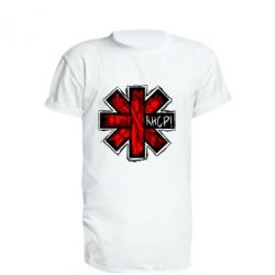 Подовжена футболка RHCP sublim