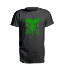 Удлиненная футболка Riki