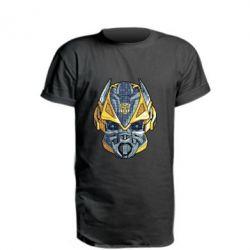 Подовжена футболка Робот bumblebee