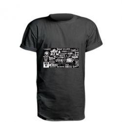 Подовжена футболка Роck logo