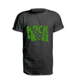 Подовжена футболка Rock&Roll