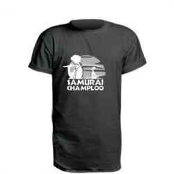 Подовжена футболка Samurai Champloo