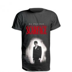 Подовжена футболка Scarface Platinum