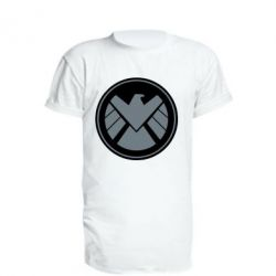 Удлиненная футболка Щ.И.Т.
