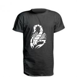 Купить Удлиненная футболка Scorpio, FatLine