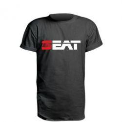 Удлиненная футболка Seat Motors