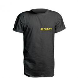 Удлиненная футболка Security