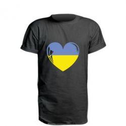 Подовжена футболка Серце України