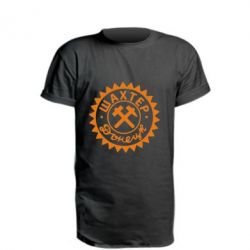 Удлиненная футболка Шахтер Донецк