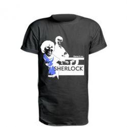 Удлиненная футболка Sherlock (Шерлок Холмс)