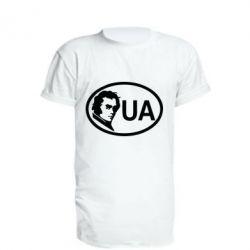 Подовжена футболка Shevchenko UA