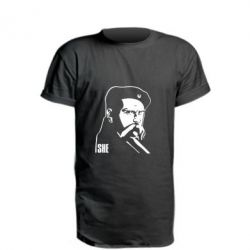 Удлиненная футболка Sheвченко