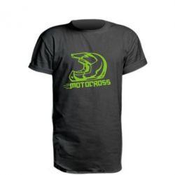Подовжена футболка Шолом Мотокросу