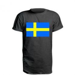 Подовжена футболка Швеція
