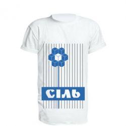 Удлиненная футболка Сіль