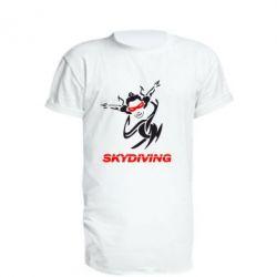 Подовжена футболка Skidiving