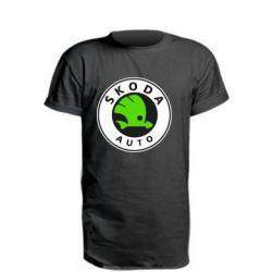 Подовжена футболка Skoda Auto