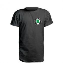Подовжена футболка Skoda Small