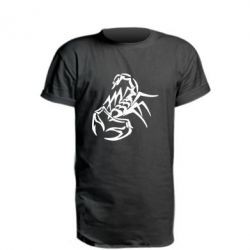 Подовжена футболка 2 скорпіон