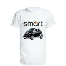 Удлиненная футболка Smart 450 - FatLine