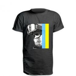 Удлиненная футболка Солдат ато