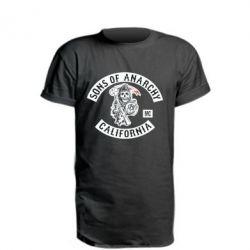 Удлиненная футболка Sons of Anarchy Samcro Original