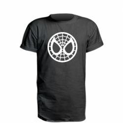 Удлиненная футболка Спайдермен лого