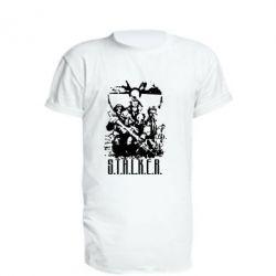 Удлиненная футболка Stalker Logo - FatLine