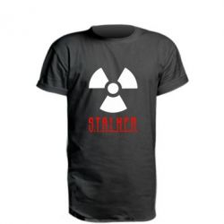 Удлиненная футболка Stalker