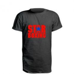 Удлиненная футболка Star Boxing