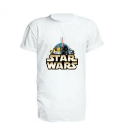 Подовжена футболка Star Wars Lego