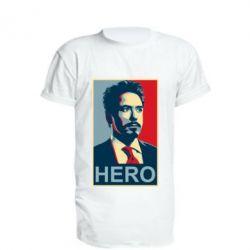 Подовжена футболка Stark Hero