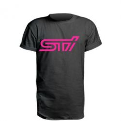 Удлиненная футболка STI Logo