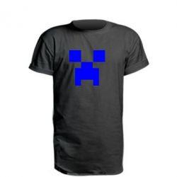 Подовжена футболка Stive? Face