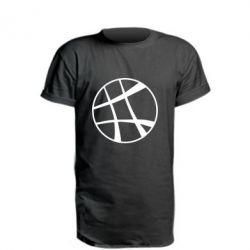 Удлиненная футболка Strange Logo
