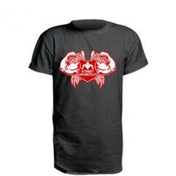 Подовжена футболка Street Workout Крила