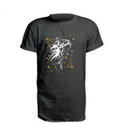 Удлиненная футболка Стрелец